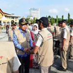 Gubri Tinjau Satuan Tugas PTSL BPN Prov Riau Tahun 2017