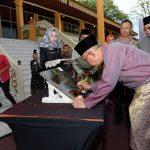 Peresmian Kantor Dinas Kebudayaan Prov Riau