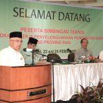 Gubri Buka Bimtek Pelaporan Kinerja Penyelenggaraan Pemerintahan Daerah se Prov Riau