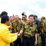 Gubri disaksikan Ketua DPR RI lantik Pengurus DPD PG Kab Rohul