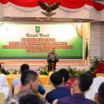 Ramah Tamah Gubri dengan Panitia dan Pemenang Lomba Olimpiade PPKN VI se Provinsi Riau