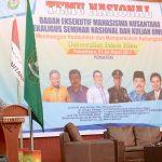 Gubri Hadiri Temu Nasional BEM Nusantara Sekaligus Seminar Nasional dan Kuliah Umum