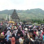 Ribuan Manusia Serbu Dieng Culture Festival 2016