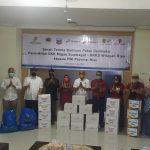 SKK Migas dan KKKS Serahkan Paket Sembako ke PWI Riau