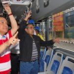 Gubernur Naik SAUM Keliling Pekanbaru