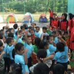 GELAR KEGIATAN BELAJAR DI ALAM TK Global Andalan Riau Komplek Peringati Hari Anak