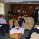 BMKG dan Gubri Bahas Pembangunan Stasiun Klimatologi