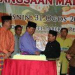 Gubernur Hadiri Hari Kebangsaan Malaysia ke 52