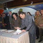 Menteri ESDM Tandatangani KKS Blok Langgak