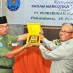 UNTUK 6 DAERAH RIAU… BNP Riau Gandeng PTPN V Sosialisasi Bahaya Narkoba