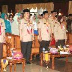 Septina Resmi Jabat Ketua Kwarda O4 Gerakan Pramuka Riau