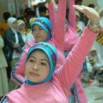 Lomba Senam Melayu HUT Emas Provinsi Riau
