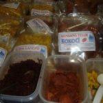 Makanan Serba Rendang di Stand Kabupaten Limapuluh Kota, Sumbar