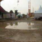 Hujan Satu Jam, Arena Riau Expo Digenangi Air dan Lumpur