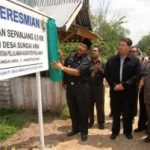 Riaupulp Serahkan Bantuan Jalan Senilai 2.4 Miliyar Untuk Masyarakat Desa Sei Ara