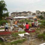 Perkuburan di Pekanbaru Mulai Ramai Didatangi Penziarah