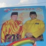 Gambar SBY berpakaian Melayu di Baleho-Baleho Diduga Rekayasa