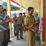 Riaupulp Serahkan Gedung SD & SMU Untuk Desa Gunung Sari