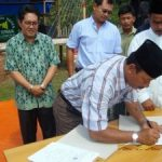 Riaupulp-Warga Lubuk Jering Teken MoU Penyerahan Kebun Sawit