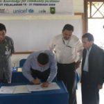 Disnak Riau-CECOM Foundation Tandatangani MOU Program Pemberdayaan Masyarakat