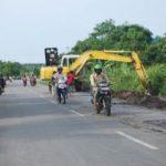 Meski Bebas Banjir, Bupati Ajak Warga Kota Bengkalis Bersihkan Drainase