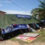 Bantuan Tenda Bagi Korban Banjir Terus Mengalir