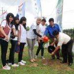 Riaupulp, KNPI, dan Finalis Putri Indonesia Tanam Pohon Bersama