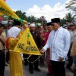 Wakil Bupati Bengkalis Secara Resmi Lepas Pawai Ta'ruf