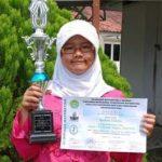 Siswi SMP Global Andalan Riaupulp Juarai Olimpiade Matematika