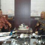 AGAR PROYEK BIDANG PERHUBUNGAN GOL Gubri Lakukan Pendekatan dengan Menhub di Jakarta