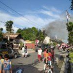 Lima Petak Rumah di Jalan Kuantan Raya Ludes Terbakar