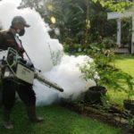 Cegah DBD, PT.RAPP Lakukan Fogging di Riau Kompleks
