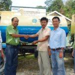 PT RAPP Serahkan Water Tank kepada Mitra Bina