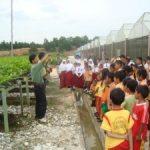 KESETIAKAWANAN SOSIAL Siswa SD Global Andalan PT.RAPP Kunjungi Sekolah Terpencil