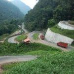 Proyek Jalan Layang Hancurkan Ruas Jalan Kelok Sembilan